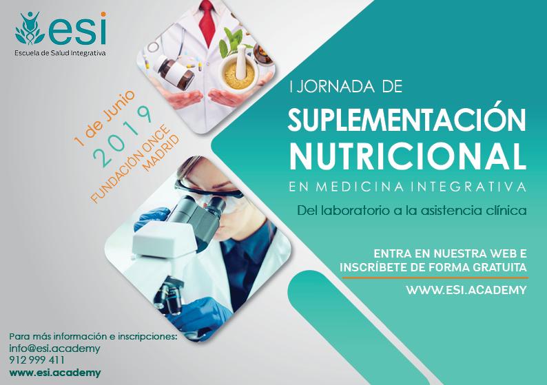 IJornada de Suplementación Nutricional en Medicina Integrativa