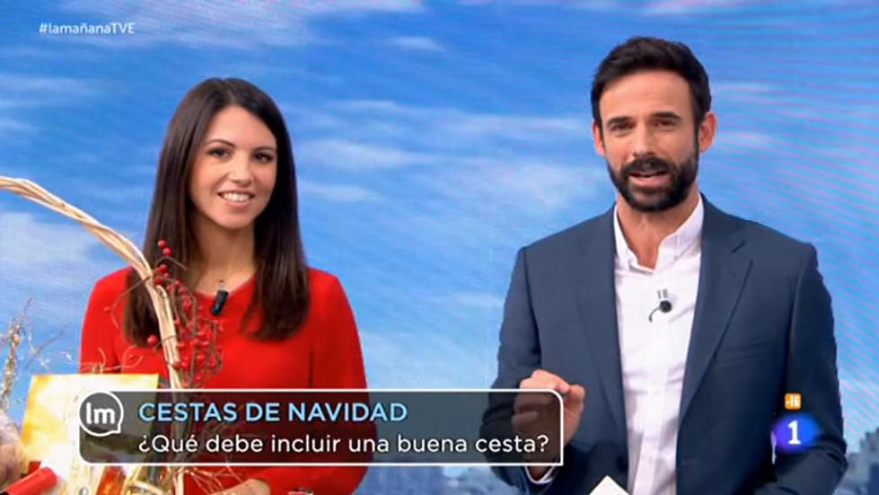 Elisa Blázquez en La Mañana de TVE