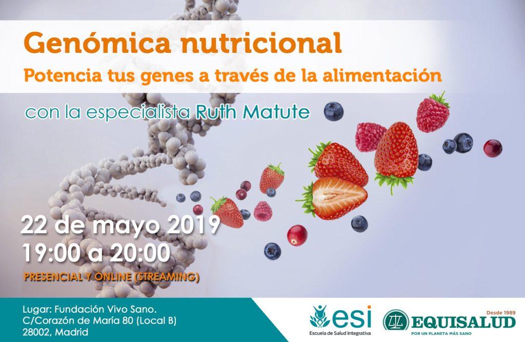 Conferencia gratuita: Genómica nutricional