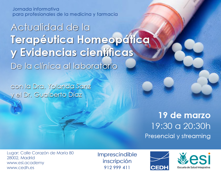 Actualidad de la terapéutica homeopática y evidencias científicas
