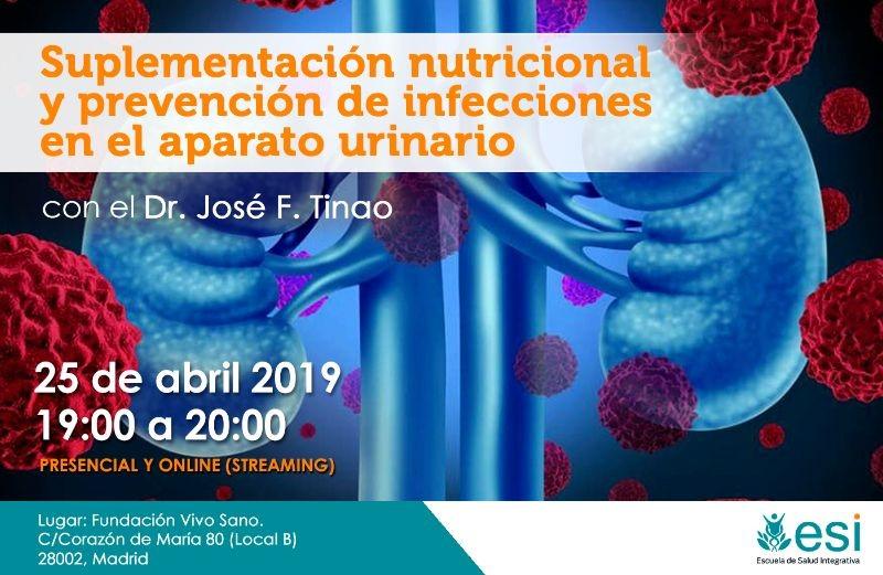 Suplementación nutricional y prevención de infecciones en el aparato urinario