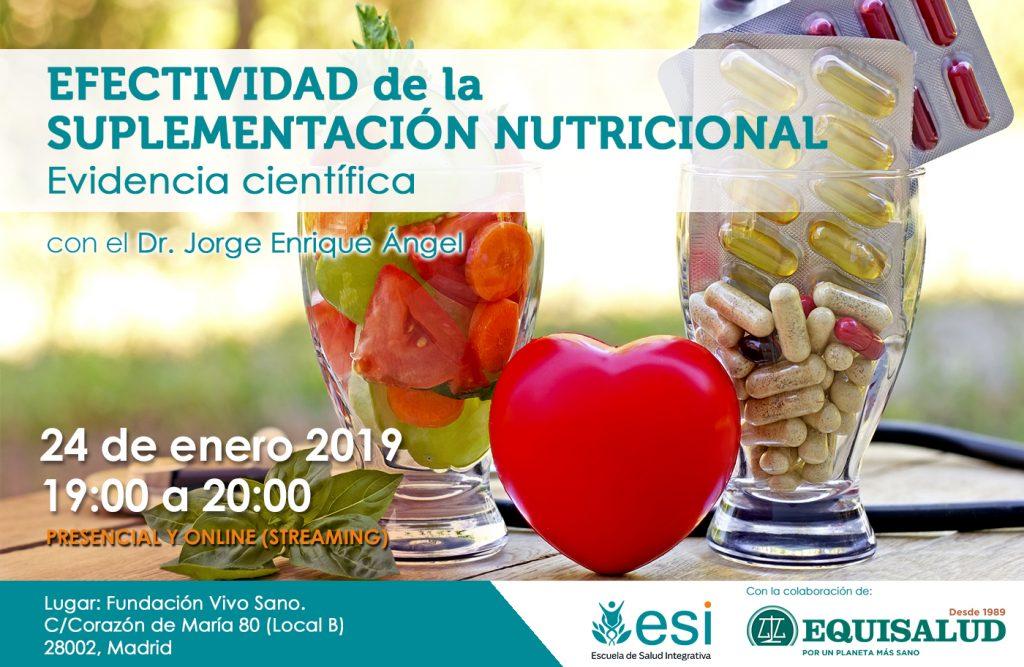 Efectividad de la Suplementación Nutricional: Evidencia científica