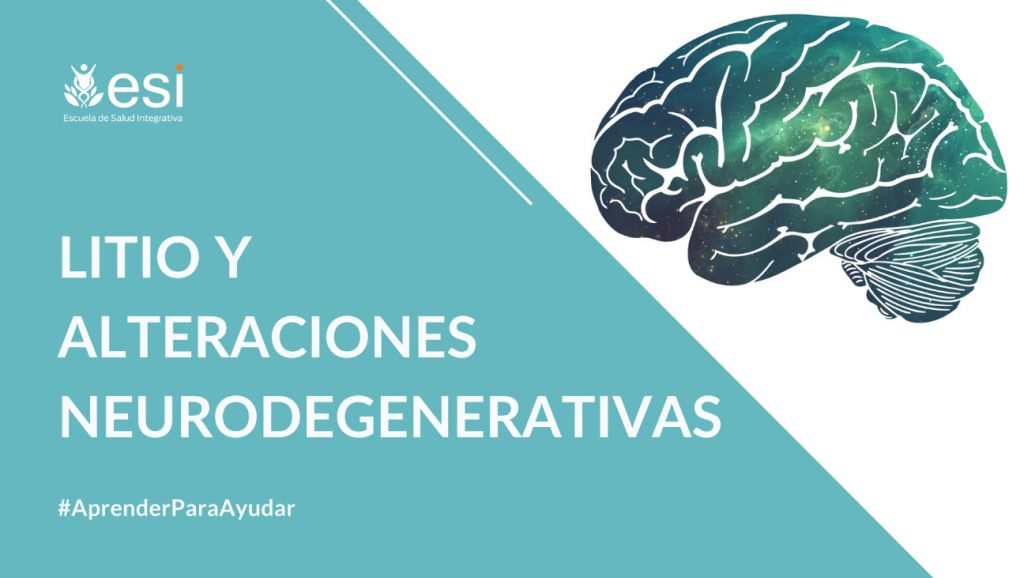 Litio y alteraciones neurodegenerativas